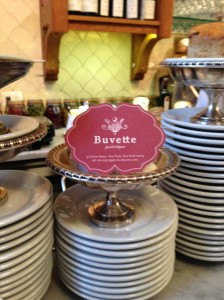 buvette counter