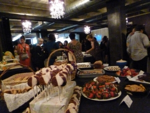 Celebrating NYWCA's 30th anniversary with a potluck dinner