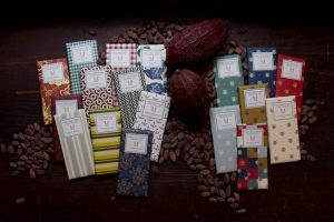 Chocolate bars from Mast Brothers