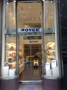 The Royce store on Madison Avenue
