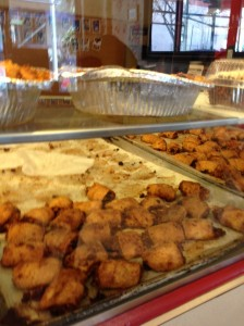 Trays of apricot rugelach