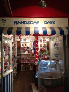 Inside Handsome Dan's