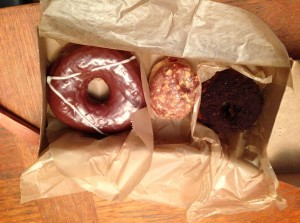 My doughnut selection
