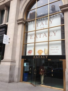 Eataly on 23rd near Fifth Avenue