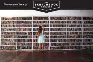 Sketchbooks at the Brooklyn Art Library