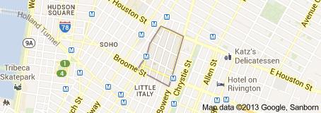 Nolita Map