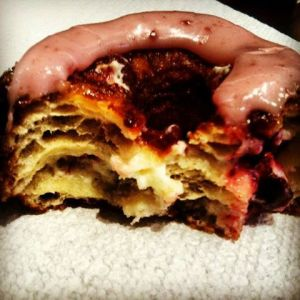 My friend's blackberry Cronut