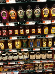 Honey choices at the UES Fairway